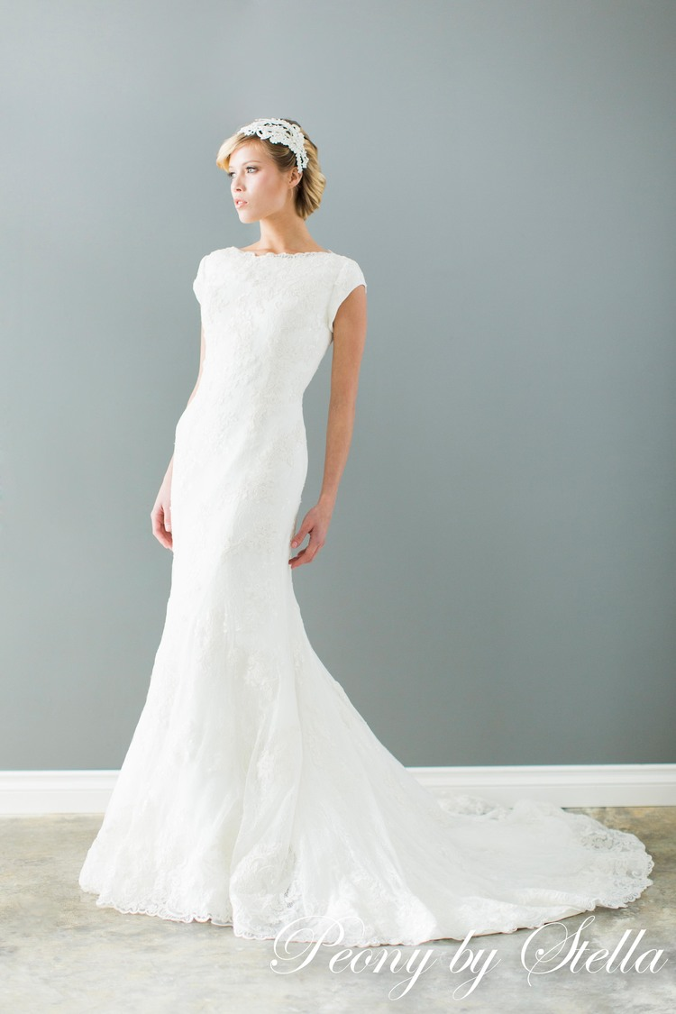 Peony by Stella Modest Bridal Gowns Coming to Brilliant Bridal ...