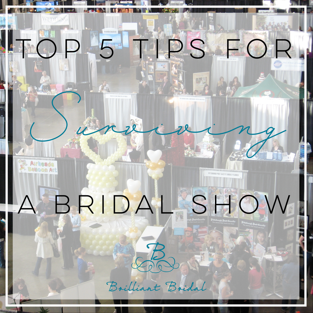 bridal show tips for brides