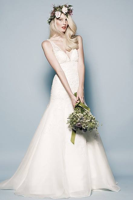 Watters Jessica Gown - Available at our Denver Store -  Ivory, Size 10, MSRP: $4,859, Brilliant Bridal Price: $2,900