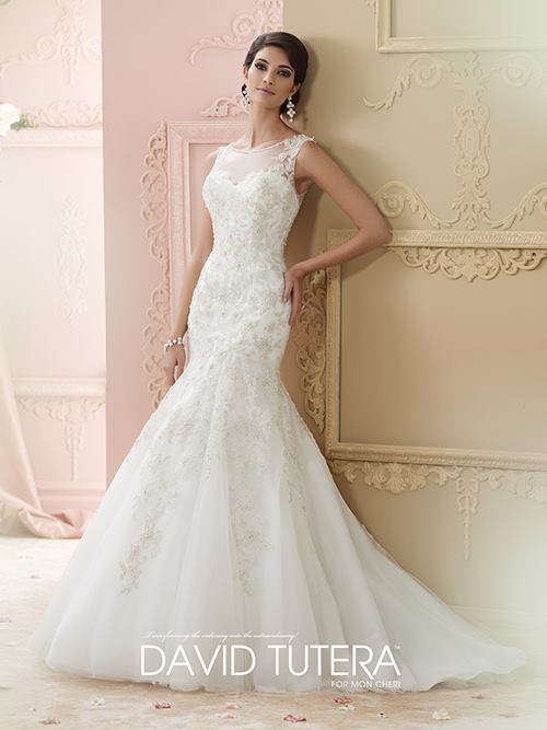 David Tutera 215275 Color: IV BLUSH Size: 6    Retail Price: $1,573 Our Price: $1,101  Denver Location