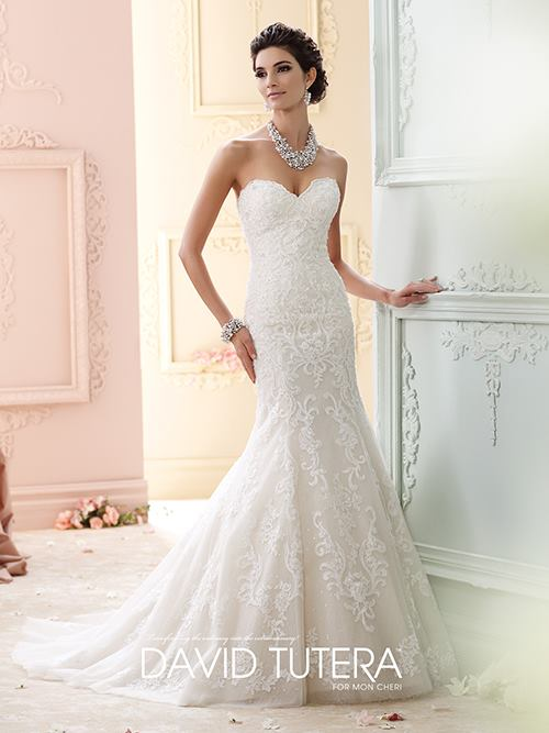 David Tutera 215274 Color: IV PK CHAMP Size: 6 Retail Price: $2,023 Our Price: $1,416 East Valley Location