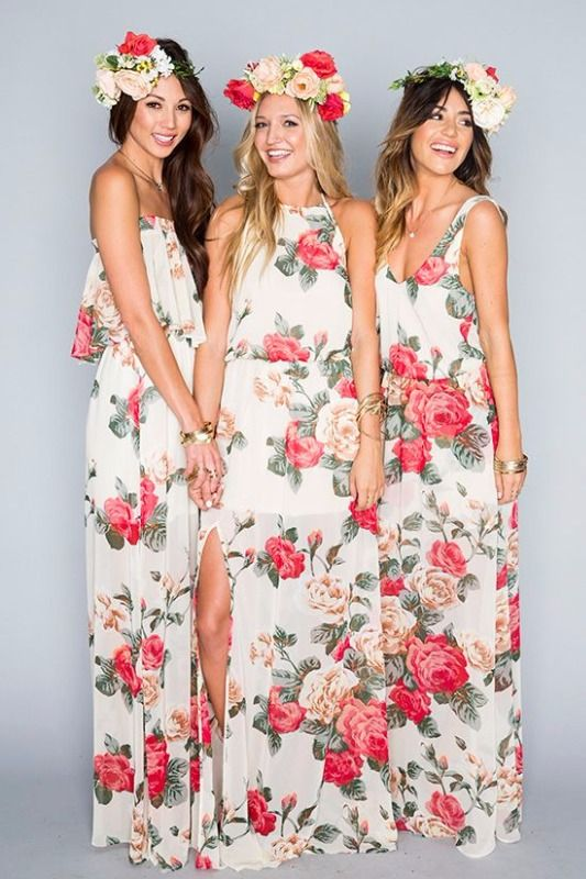SHOW ME YOUR MUMU DRESS LADY ROSE $184