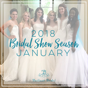 Brilliant bridal 2018 january bridal shows arizona colorado las vegas junglespirit Images