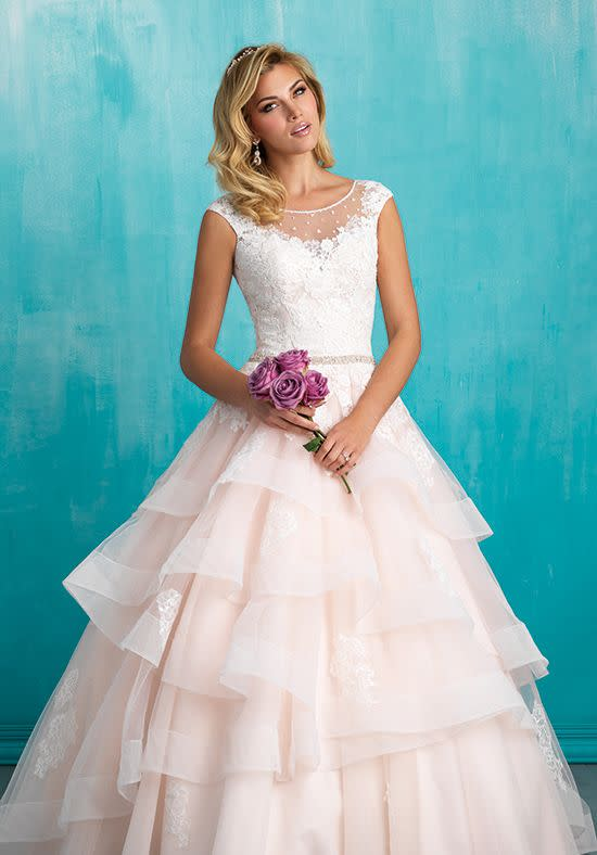Allure  9321  Blush  Size 6  Retail Price $,1450 | Our Price $,1015 (available at our Phoenix store)