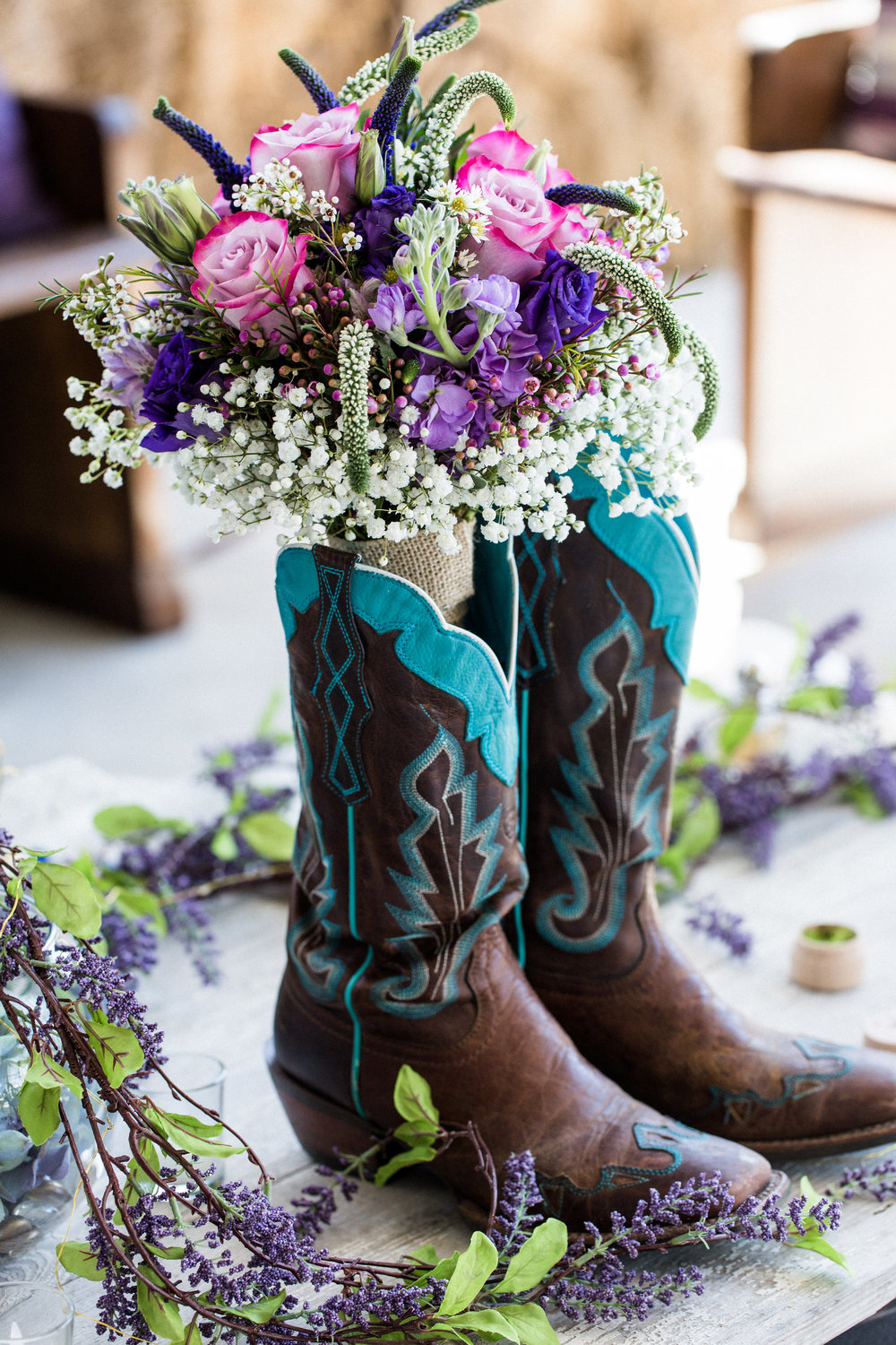 Teal Cowboy Boot Wedding Shoes.jpg