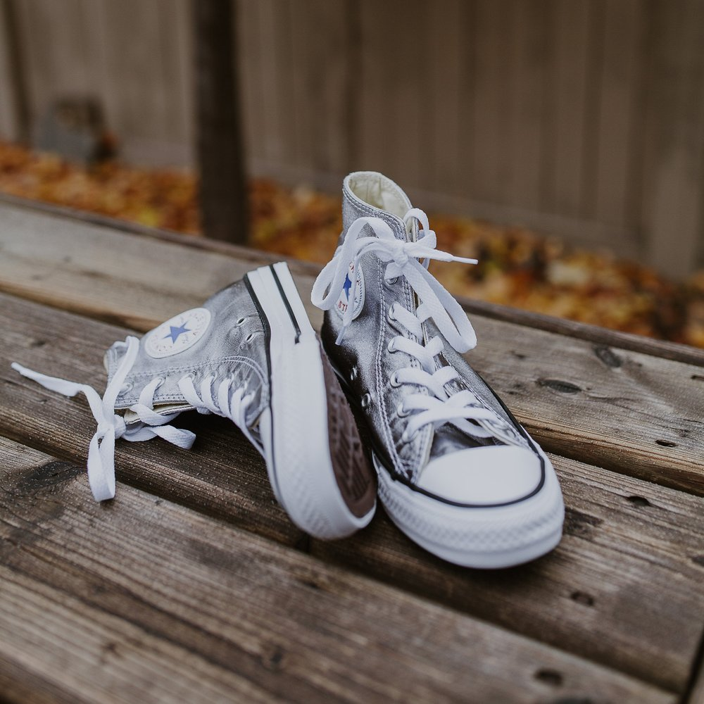 Silver Leather Converse Wedding Shoes.jpg