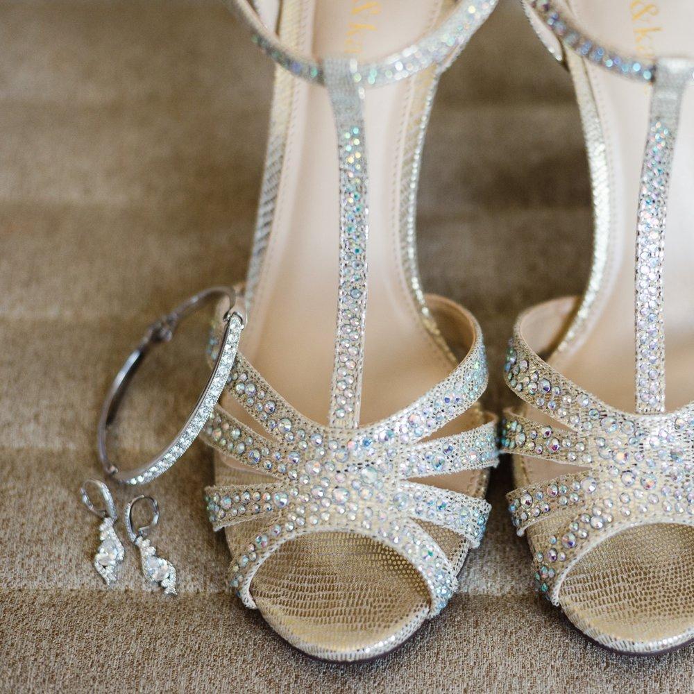 bling high heel wedding shoes.JPG
