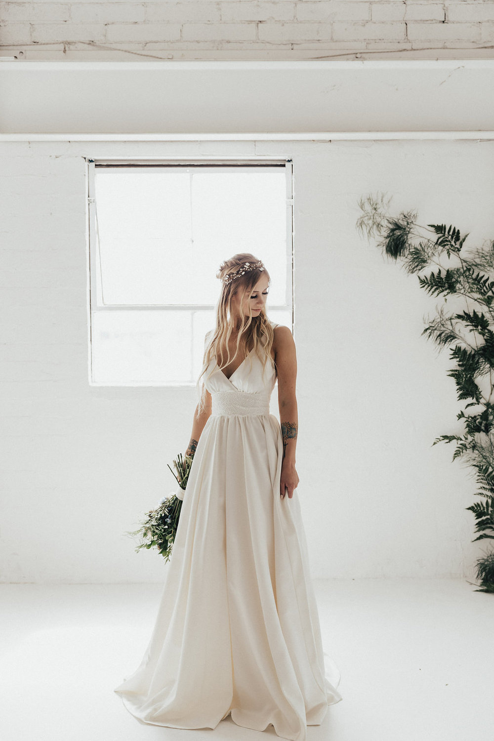fall wedding boho bride