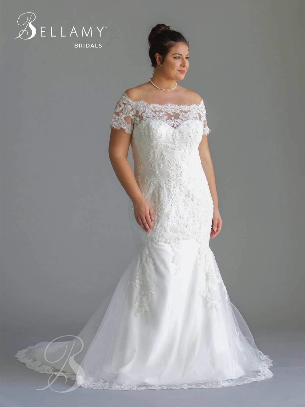 Plus Size Bridal Dress at Brilliant Bridal