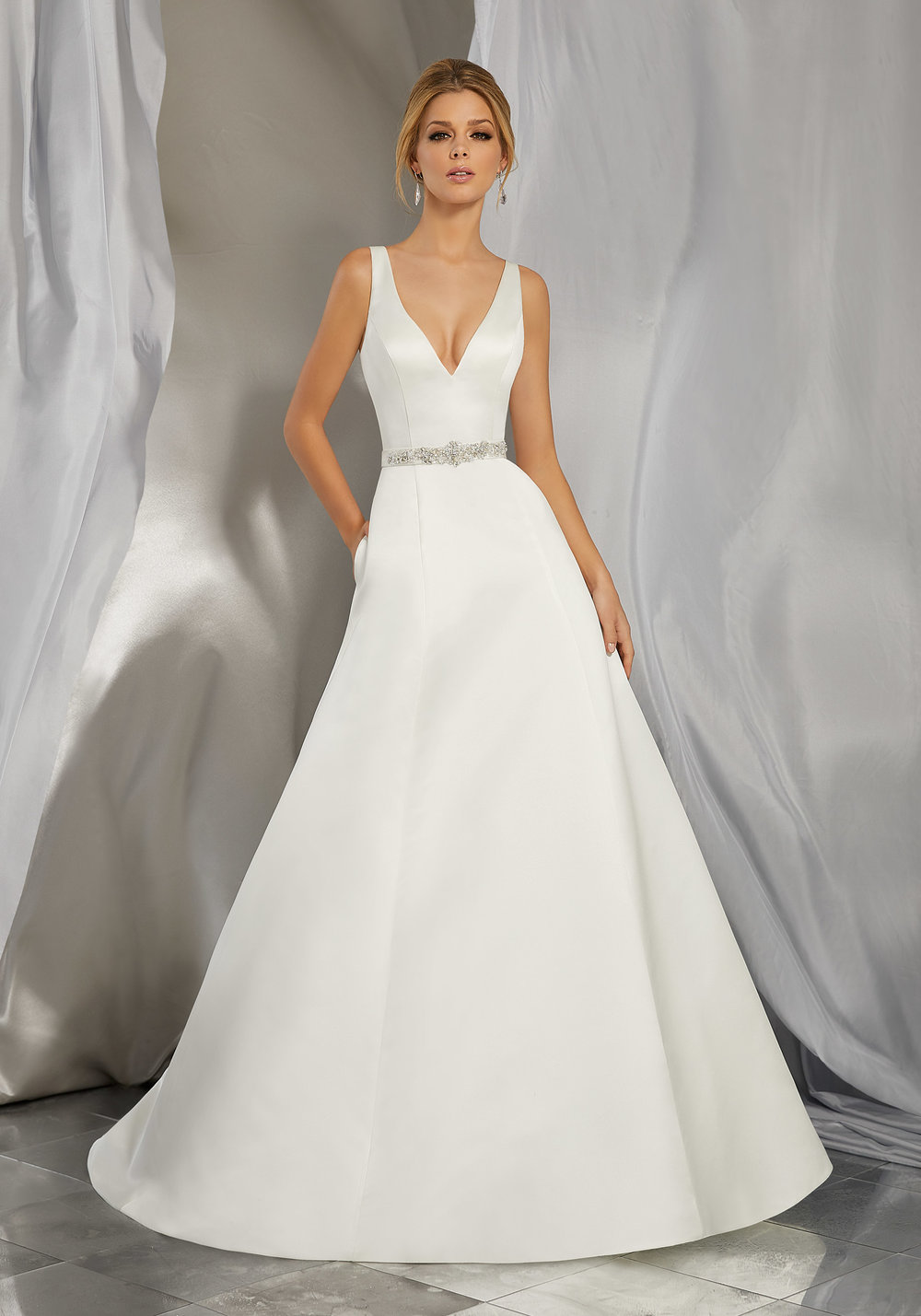 Mori Lee 6862 Ivory // Retail Price $774 | Our Price $541