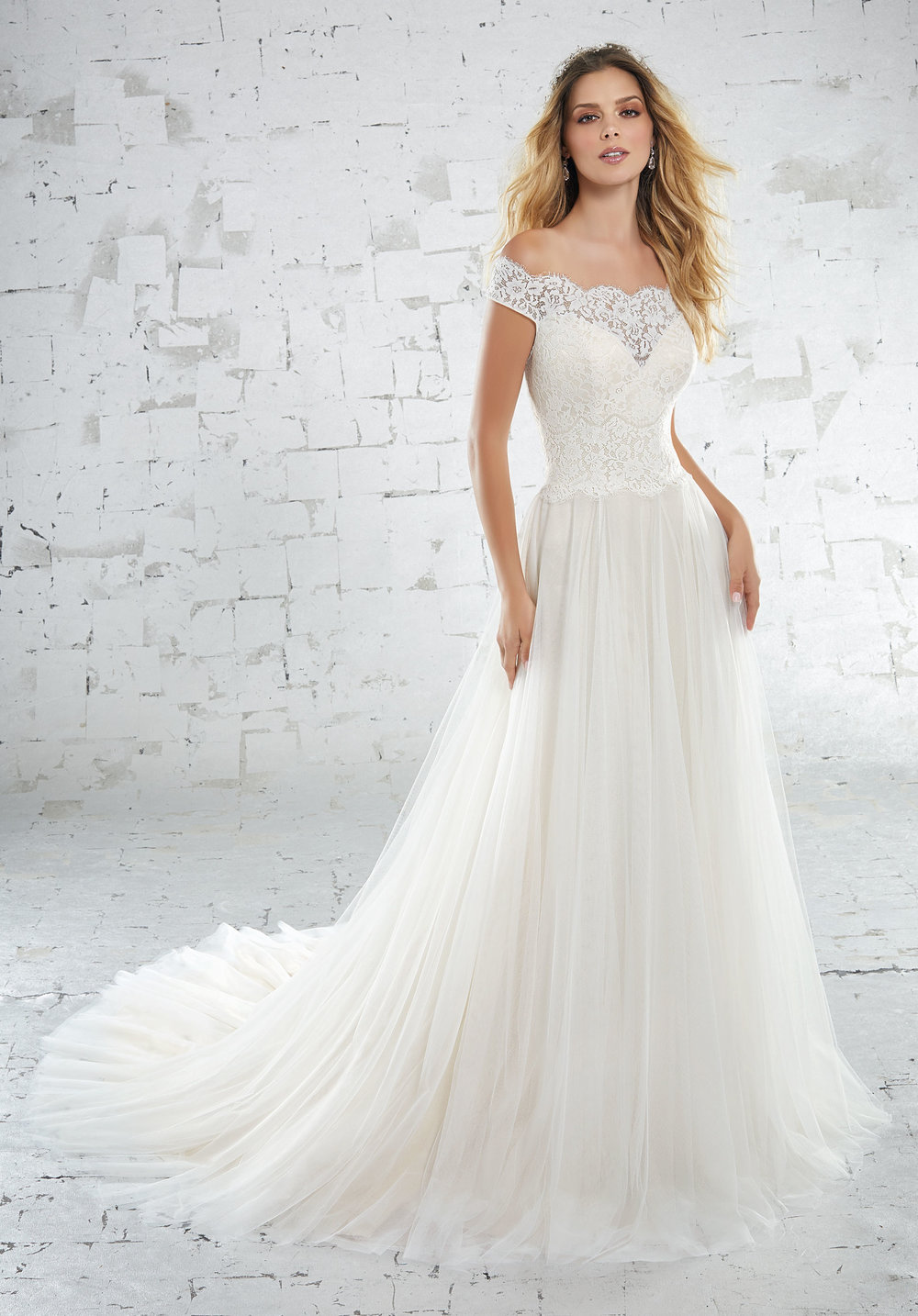 Mori Lee 6881 Ivory // Retail Price $999 | Our Price $699