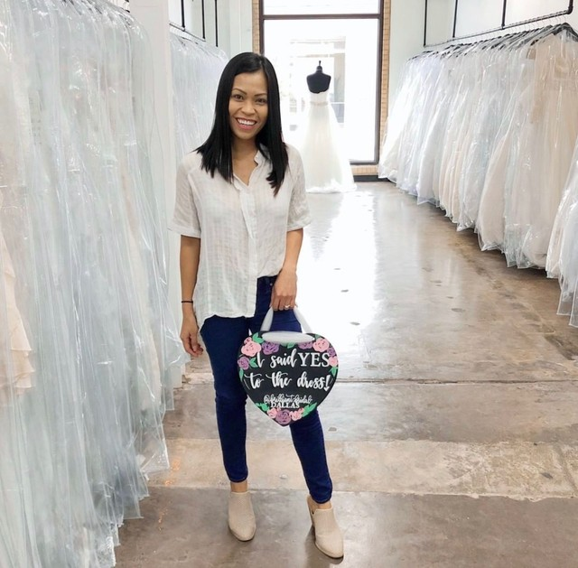 Say Yes To The Dress At Brilliant Bridal