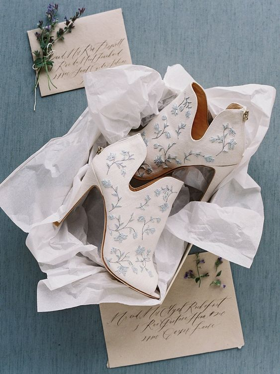 Leather Bridal Shoes