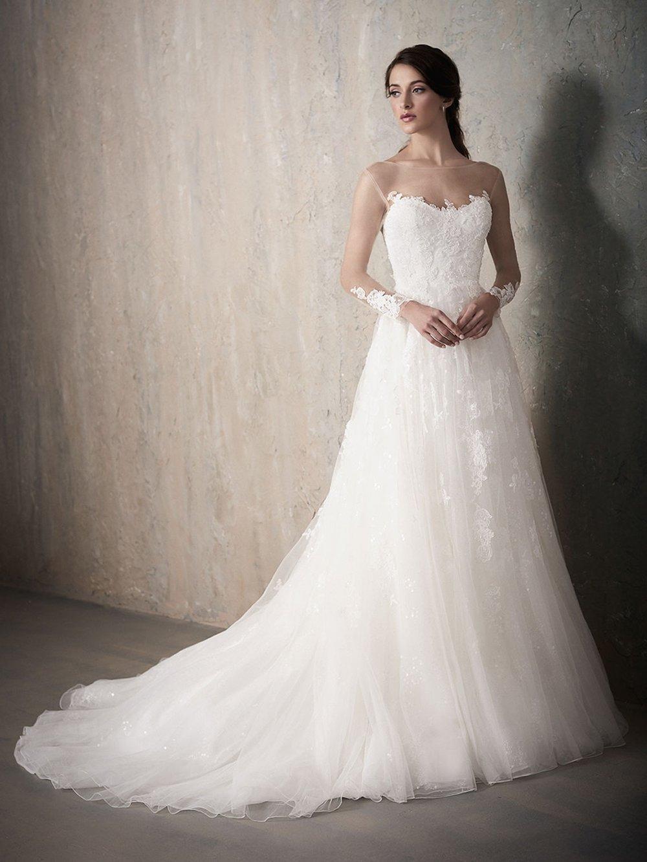Adrianna Papell 31020 Ivory/Nude // Retail price $1282 | Our price $986