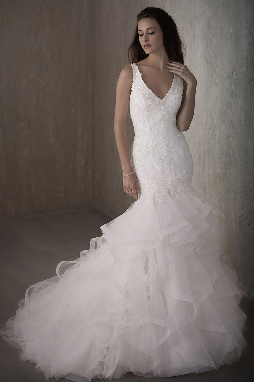 Adrianna Papell 31015 Ivory // Retail Price $1073 | Our Price $825