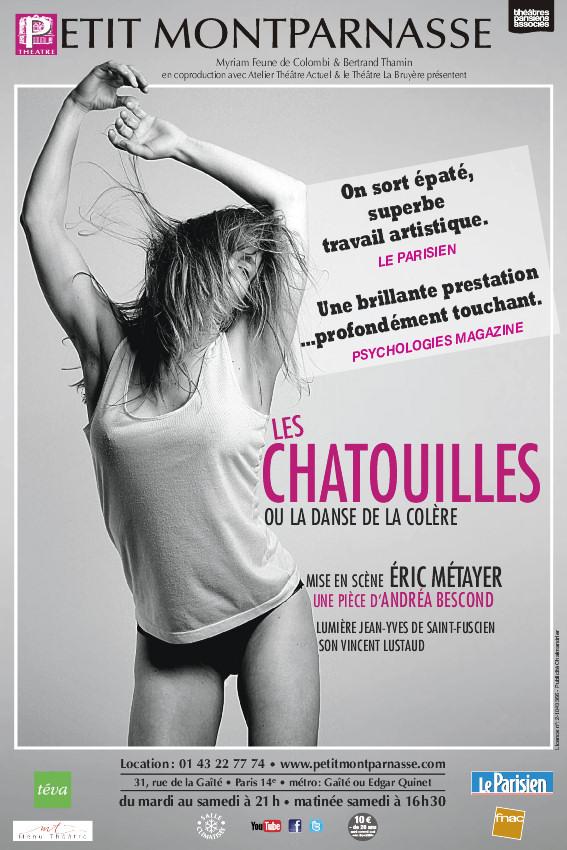 Sublime affiche,  Les Chatouilles, ou la danse de la colère