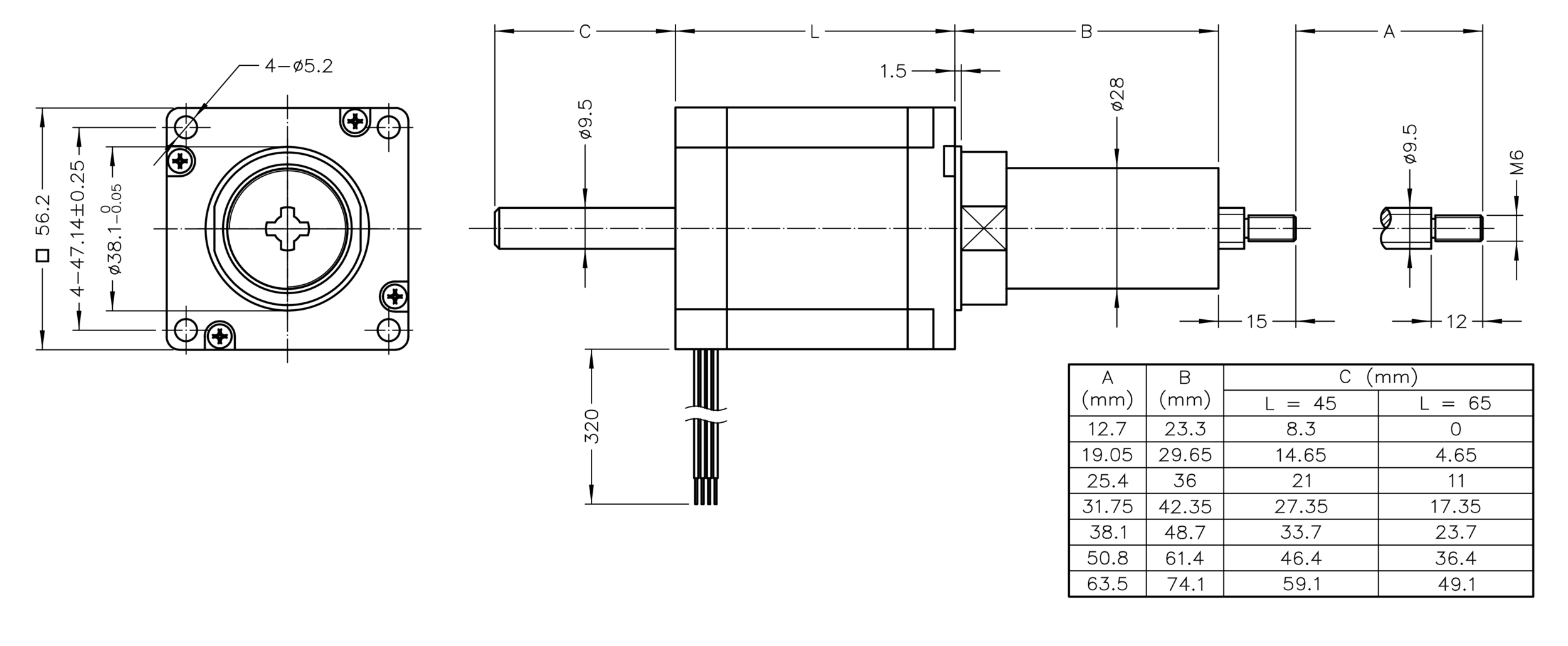 Nema 23 Linear Actuators Koco Motion Actuator Wiring Captive