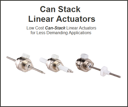 Can Stack Linear Actuators