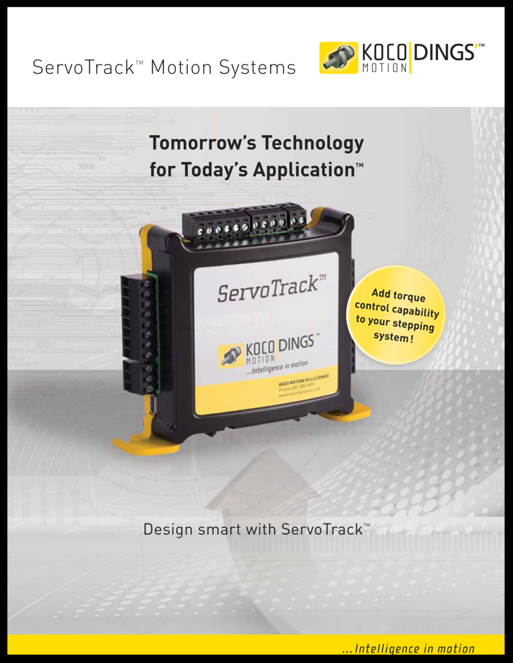 ServoTrack Brochure