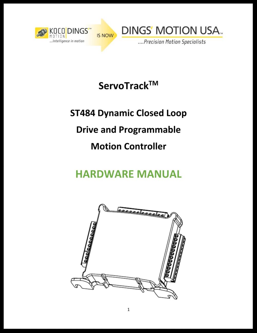 ServoTrack Hardware Manual