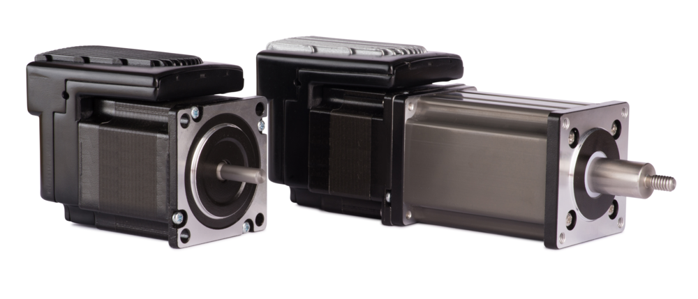 Form Factors (Left to Right): Rotary Stepper Motor, Electric Cylinder