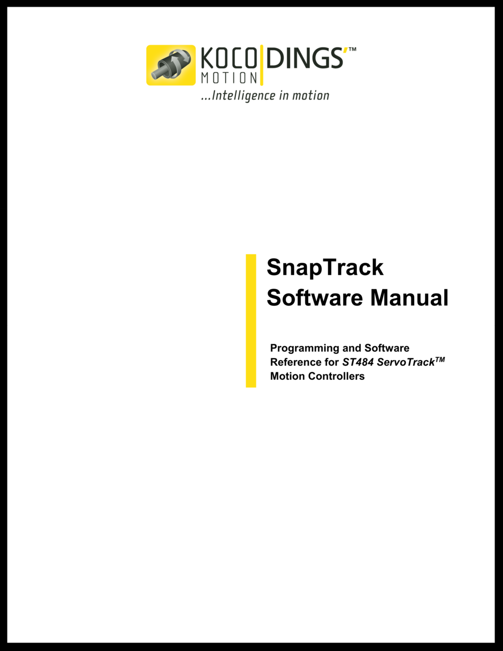 SnapTrack Software Manual