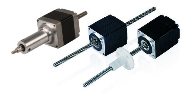 Nema stepper driven linear actuators koco motion koco for Servo motor linear actuator