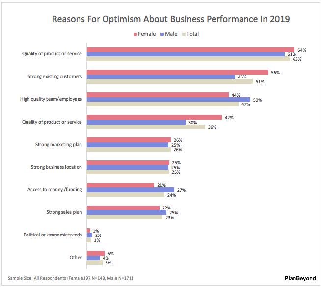 SMB Owner Report-Women versus Men Reasons for Optimism