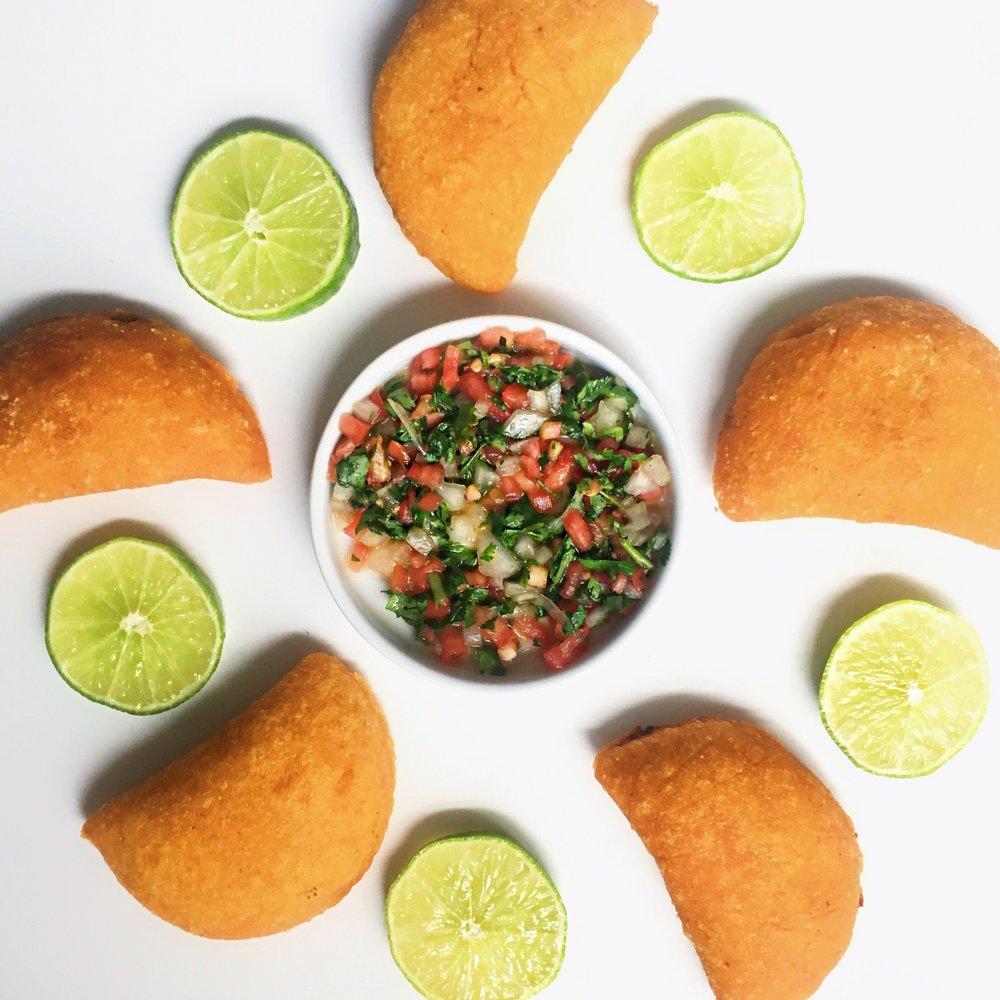 homemade vegan empanadas