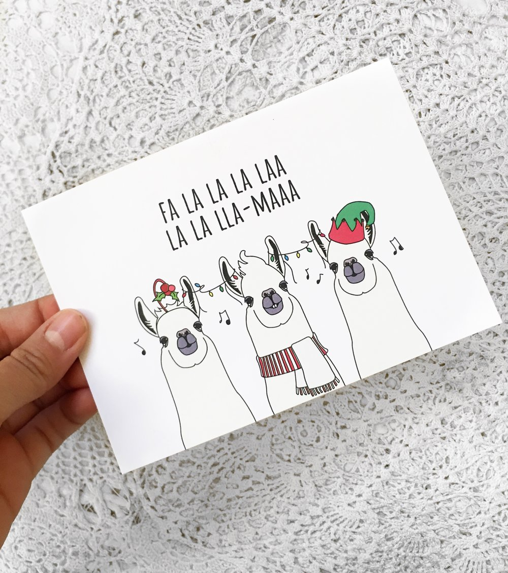 One of the 2.65 Billion Christmas cards sold in the USA.