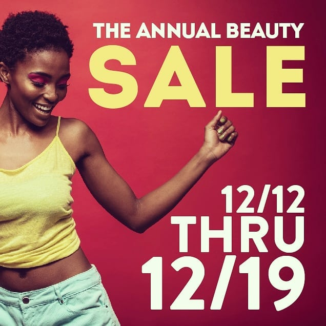 Beauty lovers rejoice! Our end of year blowout sale has just begun! The one shot of the year you can find all your favorite goodies at up to 50% OFF is happening now and ends on 12/19 so HURRY! . . . . . #beauty #beautyblog #beautyblogger #beautyproducts #centralislip #longisland #longislandny #longislandbeauty #cosmetics #makeup #instabeauty #hair #hairstylist #limua #mua #Instamakeupartist #makeupaddict #haircareproducts #longislandmua #makeupartist #hairproducts #hairextensions #wigs #makeupobsessed #stylist #barbers #hairandmakeup #popcornbeauty
