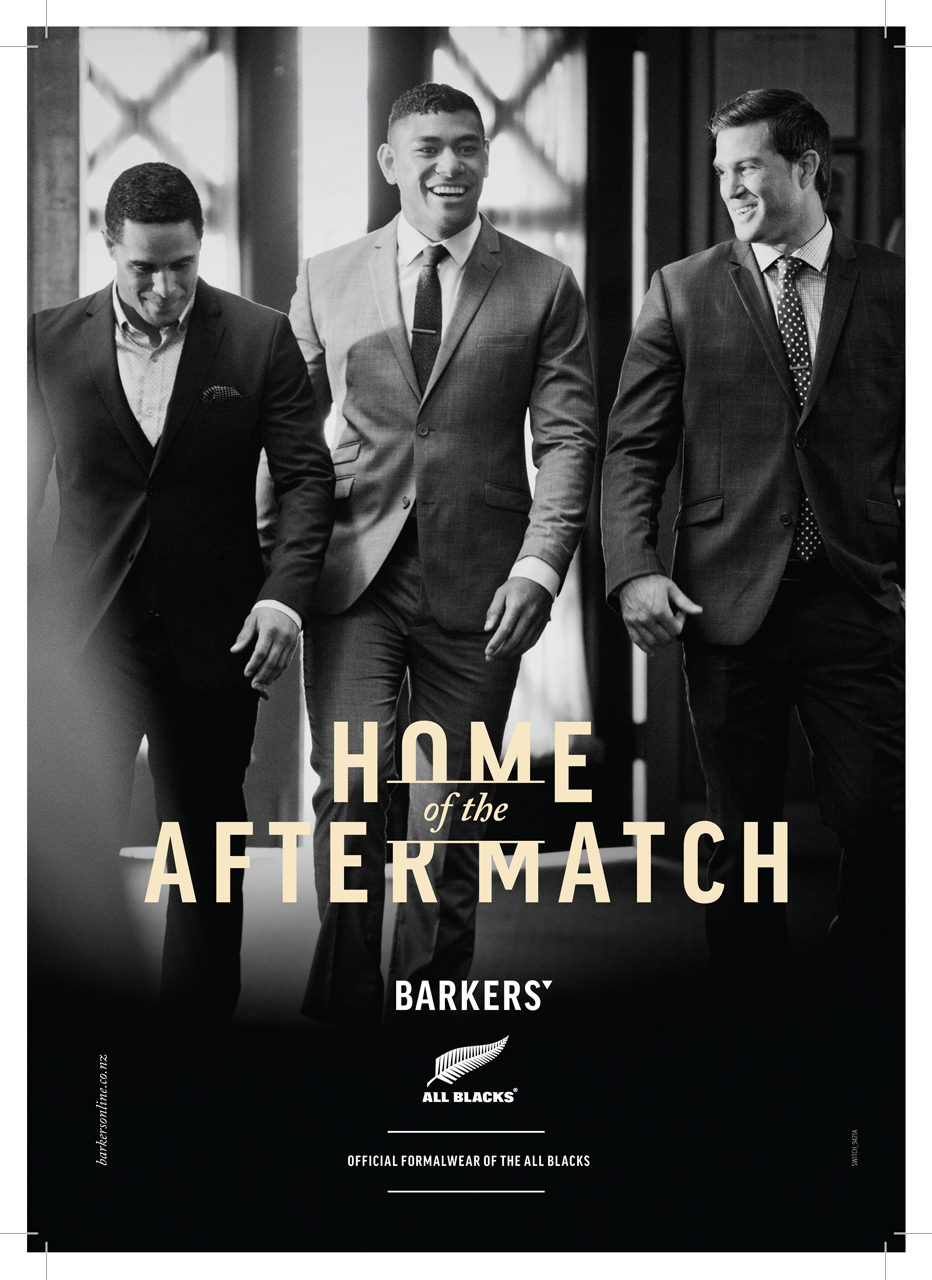 Barkers - All Blacks World-cup Campaign