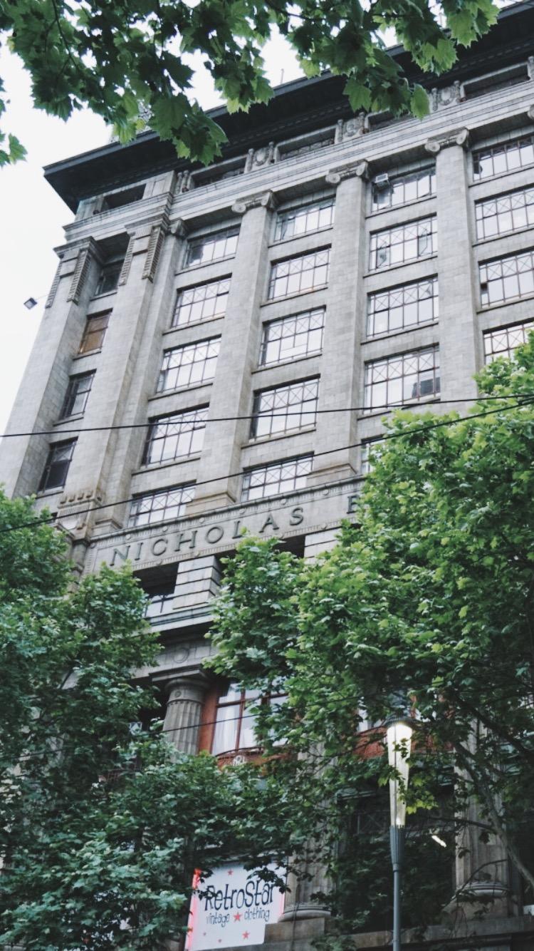 Nicholas Building, 37 Swanston St Melbourne (enter via Cathedral Arcade)