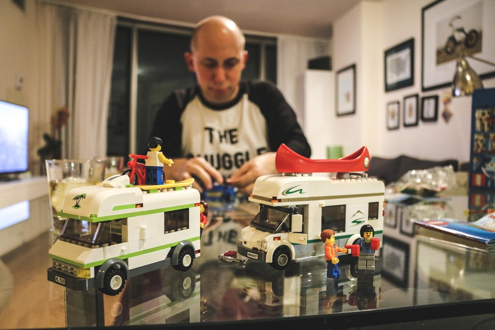 Husband and Legos