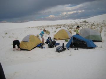 gals camping