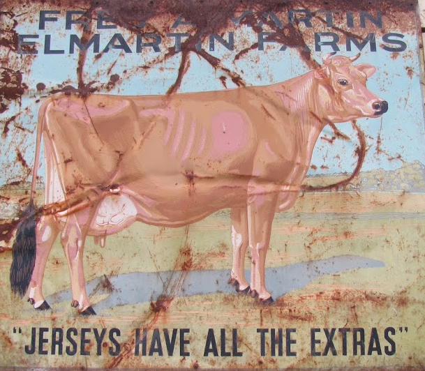 An old sign on the farm
