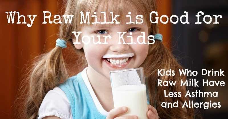 Image:     Why raw milk is good for your kids  via Living Traditionally.