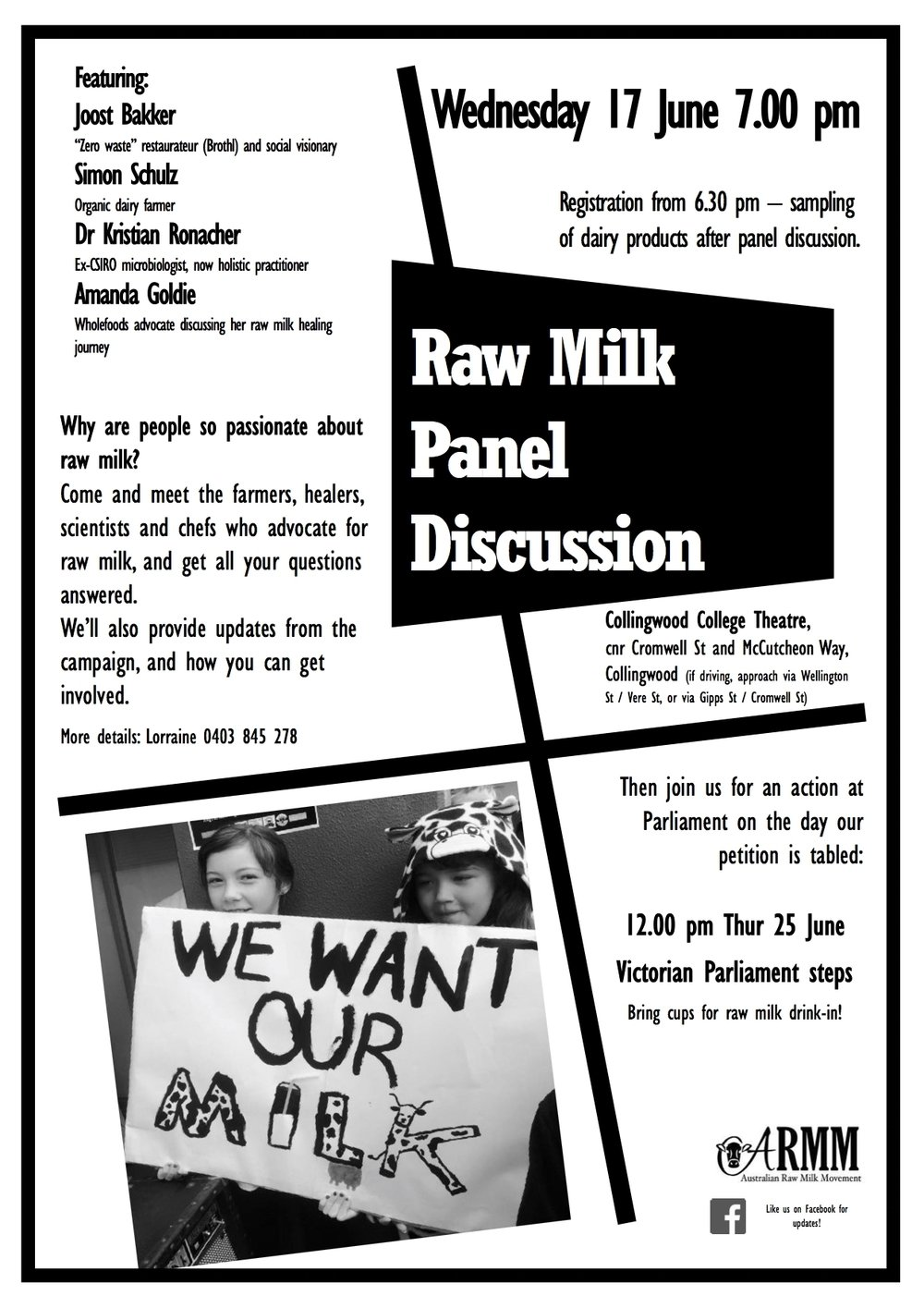panel discussion raw milk microbiologist australia