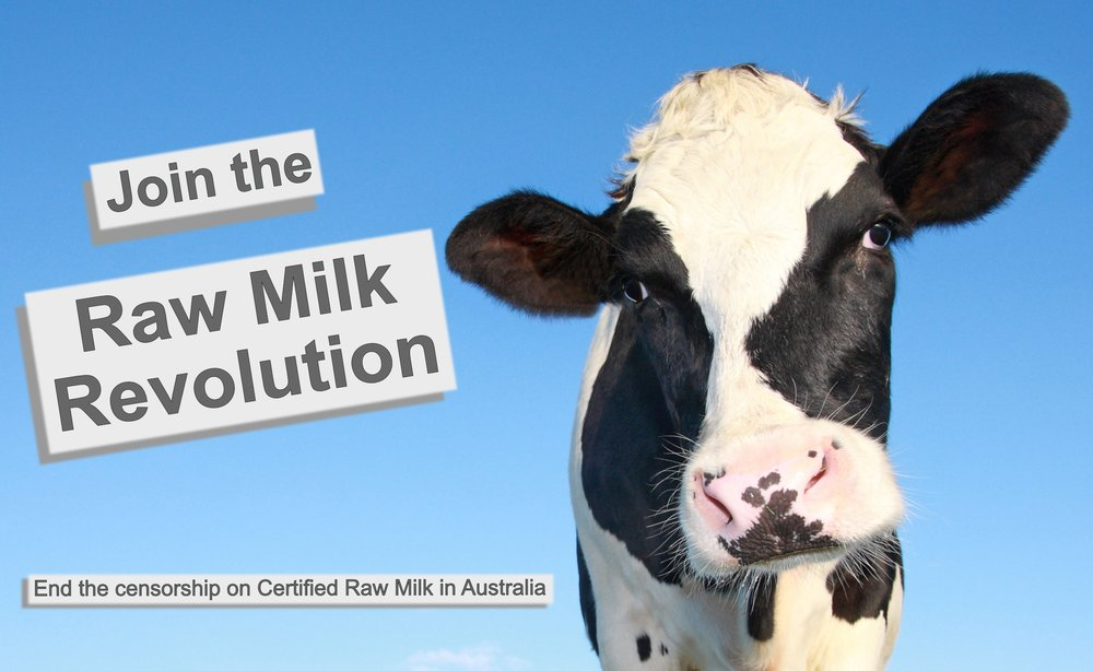 why ban raw milk melbourne australia