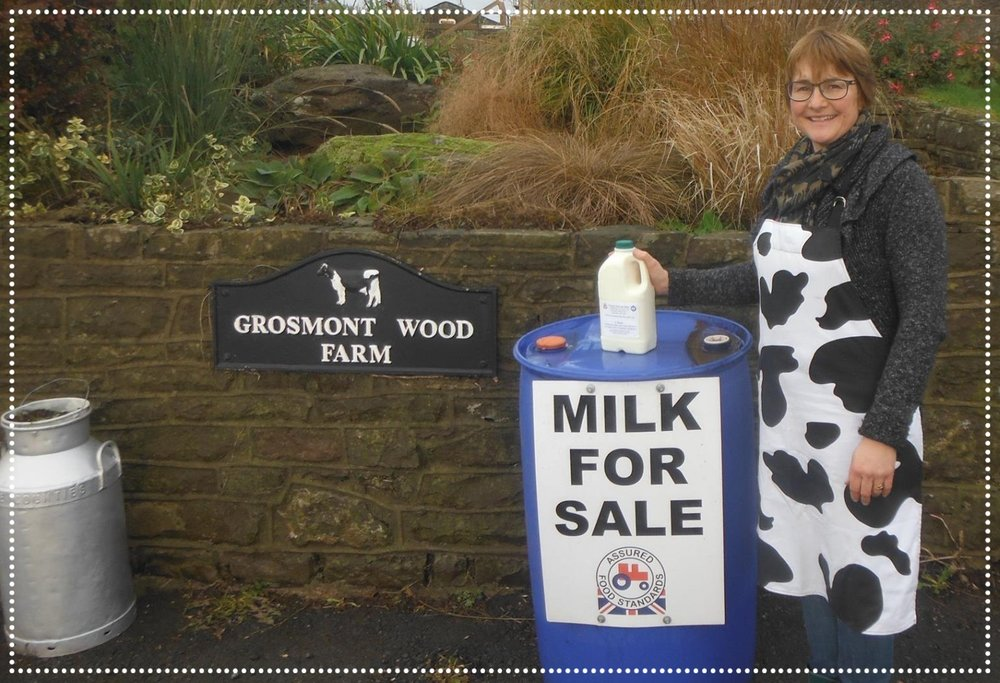 grosmont wood farm raw milk