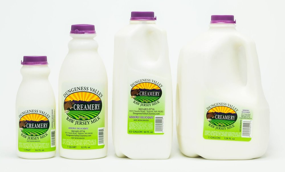 Dungeness Valley Creamery product line.jpg