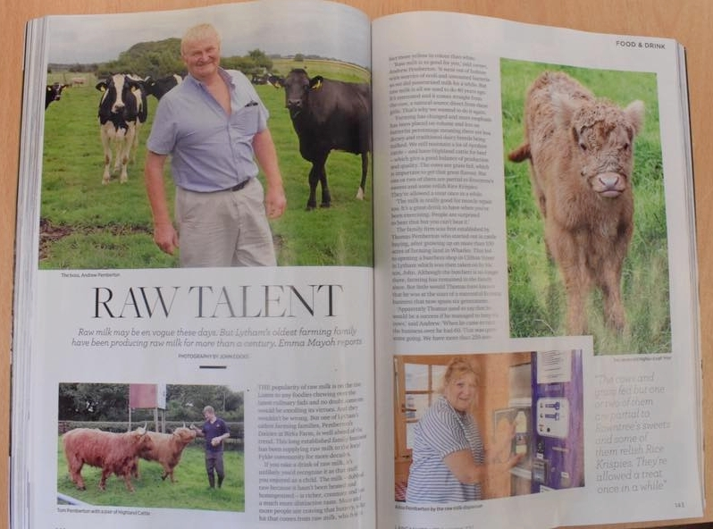 Image:   this article appeared in the local Lancashire Life magazine at the end of August 2017. Read the online article  here .