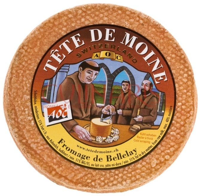 Image:   Swiss made Tete de Moine