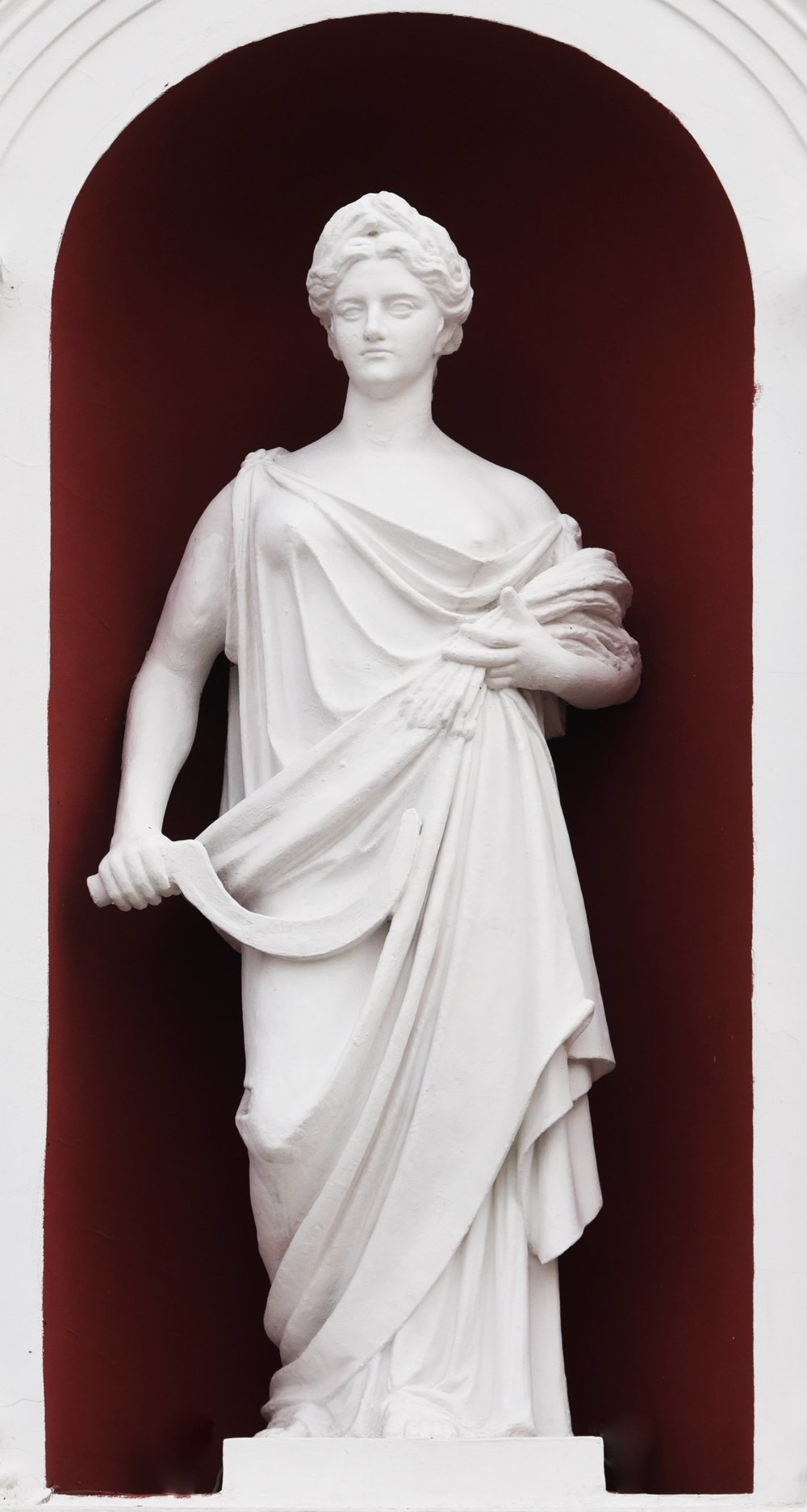 Image:   Ceres in mythology is the Roman goddess of the harvest, who presides over grains and the fertility of the earth. Clearly the issue of soil fertility has been coming for a very long time. Ceres, or Demeter as her Greek counterpart is known, is depicted holding a sickle and a harvest of grain. In ancient times soil fertility was ascribed to the workings of the gods. Today we can see ' the gods ' by looking through a microscope.