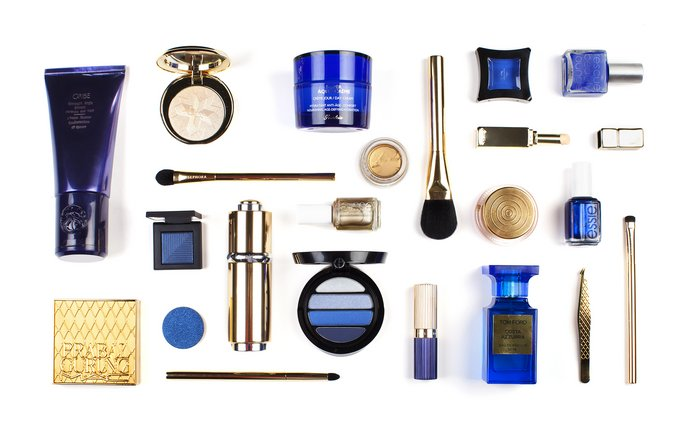 Happy Hanukkah! 8 Days' Worth of Blue-and-Gold Beauty Products to Give and Receive