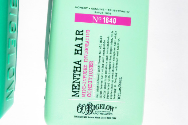 C.O. Bigelow Mentha Invigorating Shampoo and Conditioner