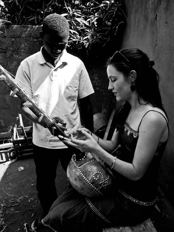 December 2012: Drissa teaches me to play the Ngoni (the West African predecessor to the banjo) in Burkina Faso.