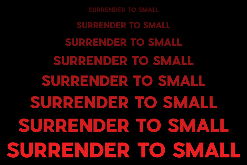 V°LITION gallery presents Surrender to Small Juried Small Works Art Exhibit  Does size matter? How does size limitation impact an artist's style and expression?  Curated by Lisa D'Amico Creative Director Phyllis Dodge  November 12th, 2pm until 5pm.  Exhibit runs November 12th until January 5th.
