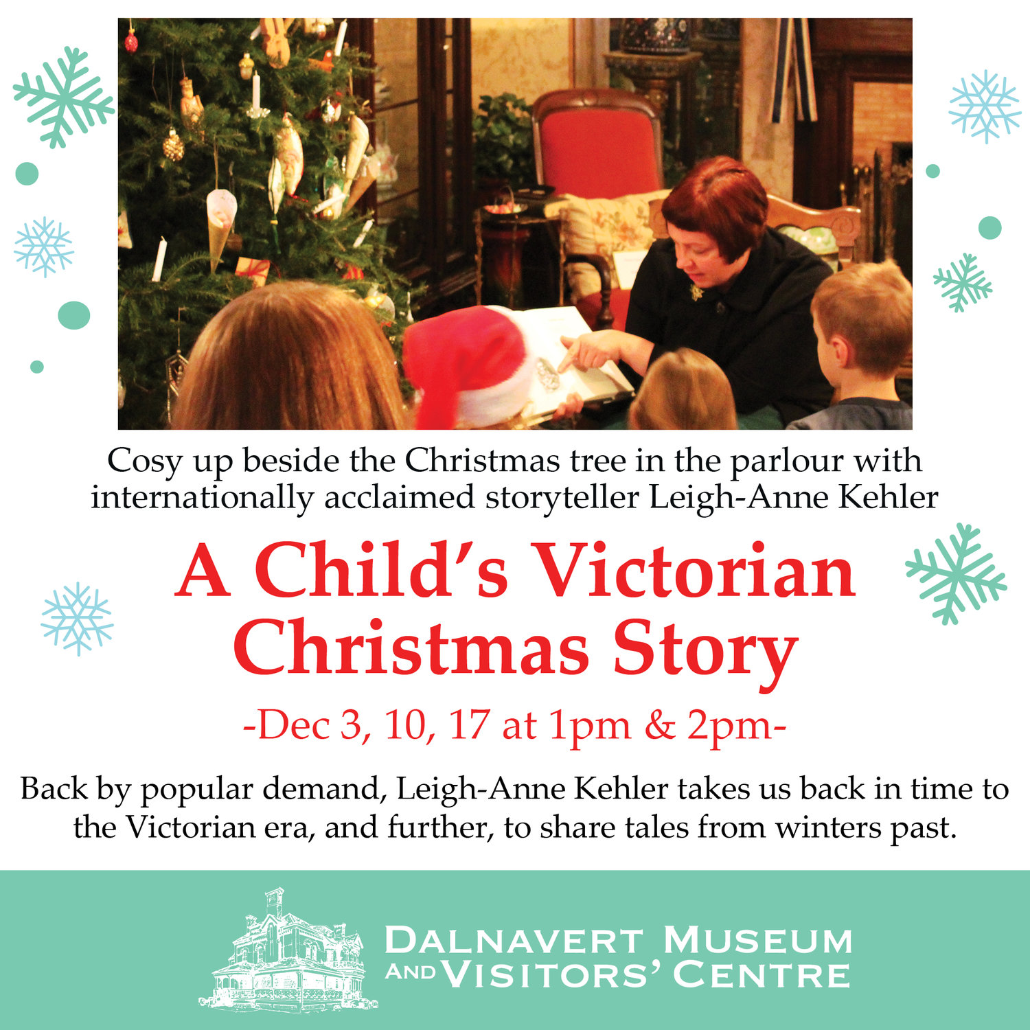 Christmas Story For Kids.A Child S Victorian Christmas Story Dalnavert Museum