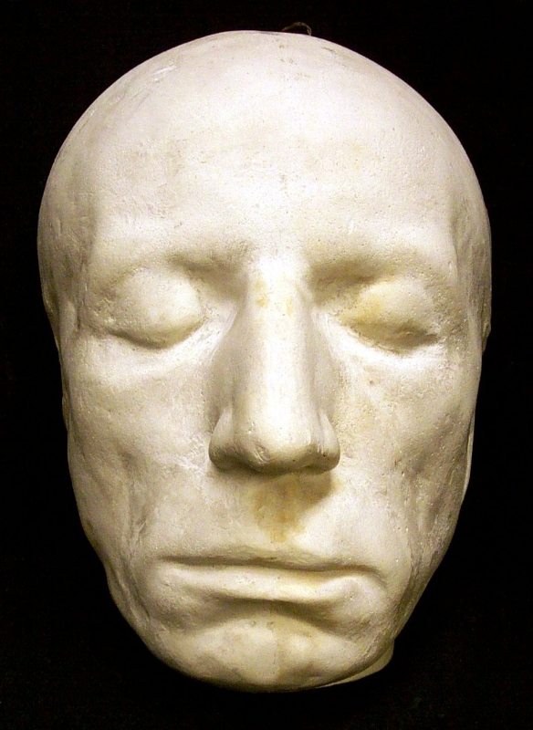 William Wordsworth's death mask
